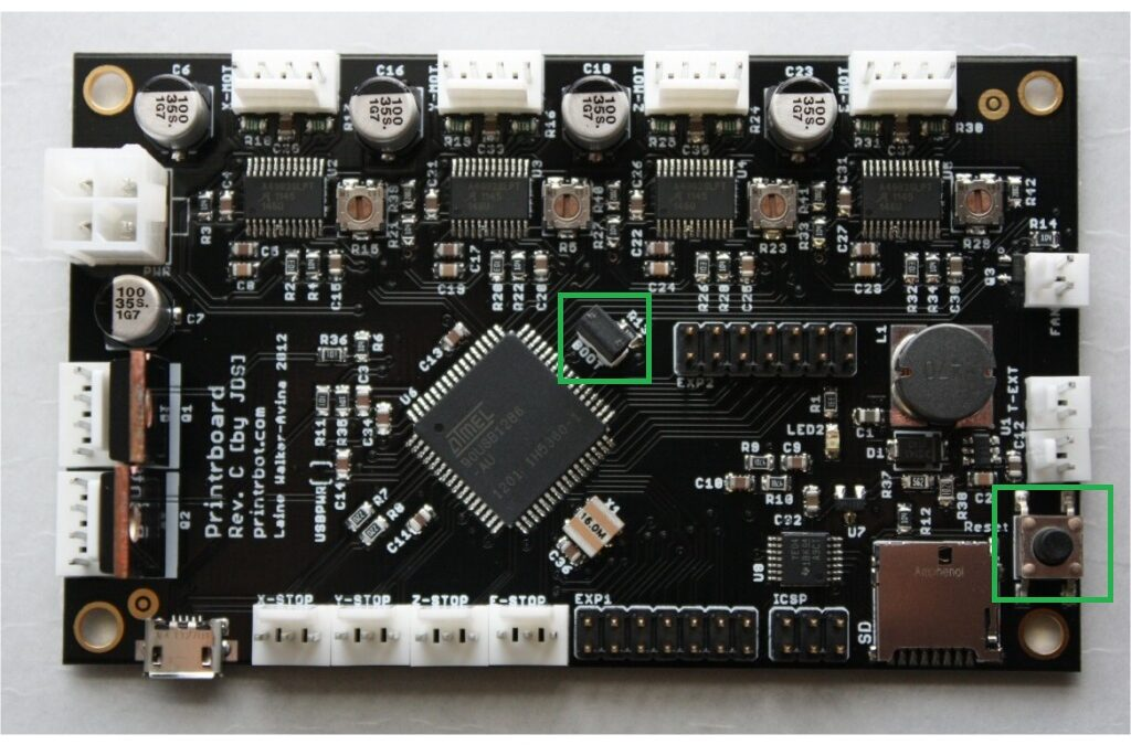 Printrboard Setup and Firmware Upgrade